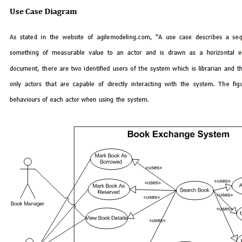use case diagram of a library information system What is a use case diagram a use case diagram is a dynamic or behavior diagram in uml use case diagrams model the functionality of a system using actors and use cases.