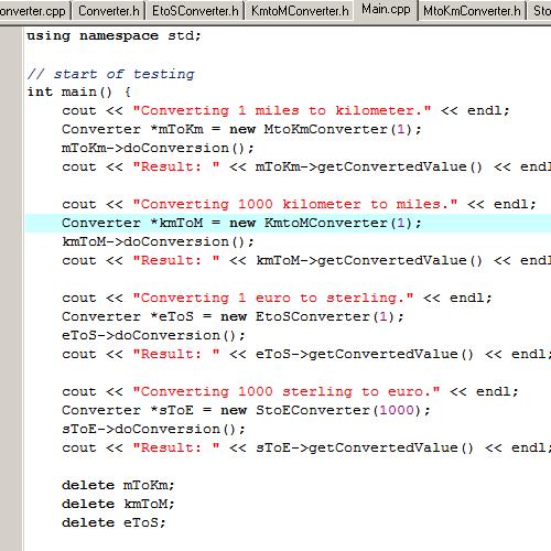 it2051229 C++ Exercises