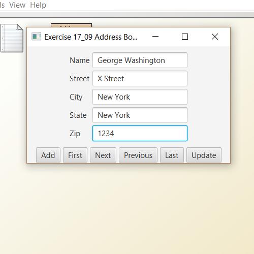 it2051229 JavaFx Address Book