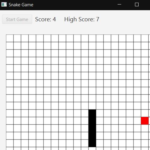 it2051229 JavaFX Snake Game
