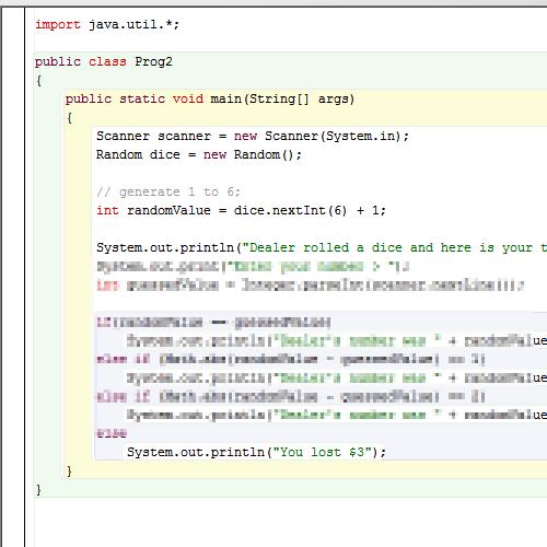 it2051229 Java Dice Roll