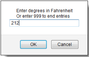 fahrenheit to degrees
