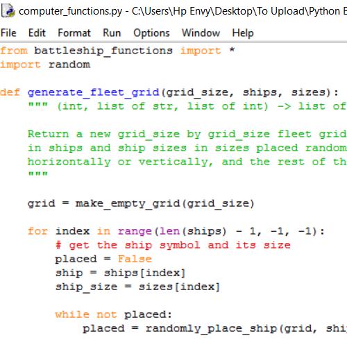 it2051229 Python Battleships