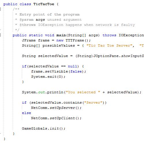 it2051229 Tic Tac Toe UDP and TCP